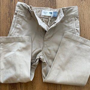 Khaki boys pants. Straight leg 18-24m